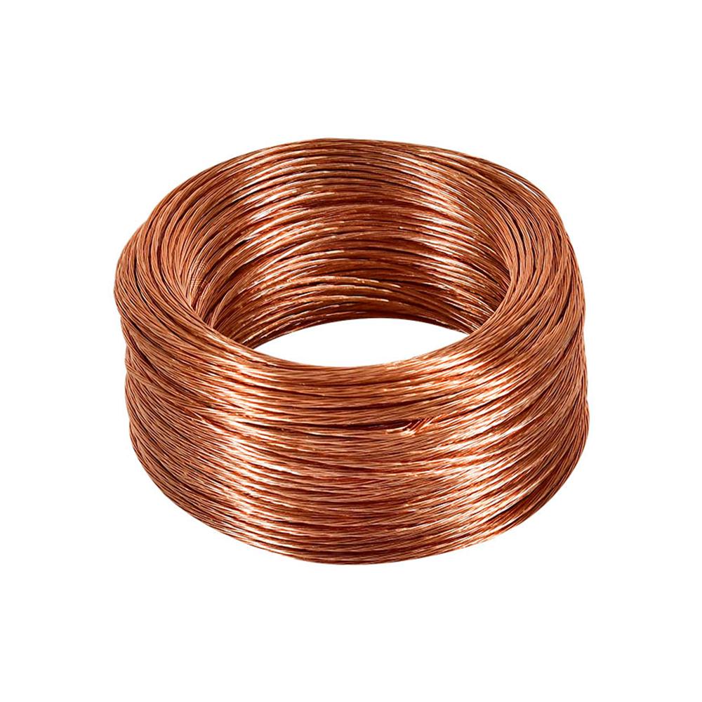 Alambre y cable de cobre desnudo
